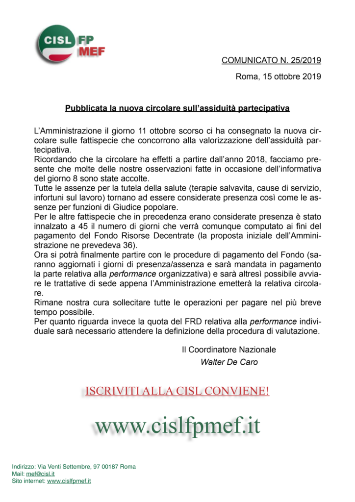 thumbnail of 25-COMUNICATO-Nuova-circolare-assiduità-partecipativa-
