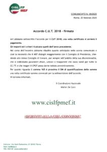 thumbnail of 5-20 COMUNICATO – Accordo CUT 2018 – firmato.pdf