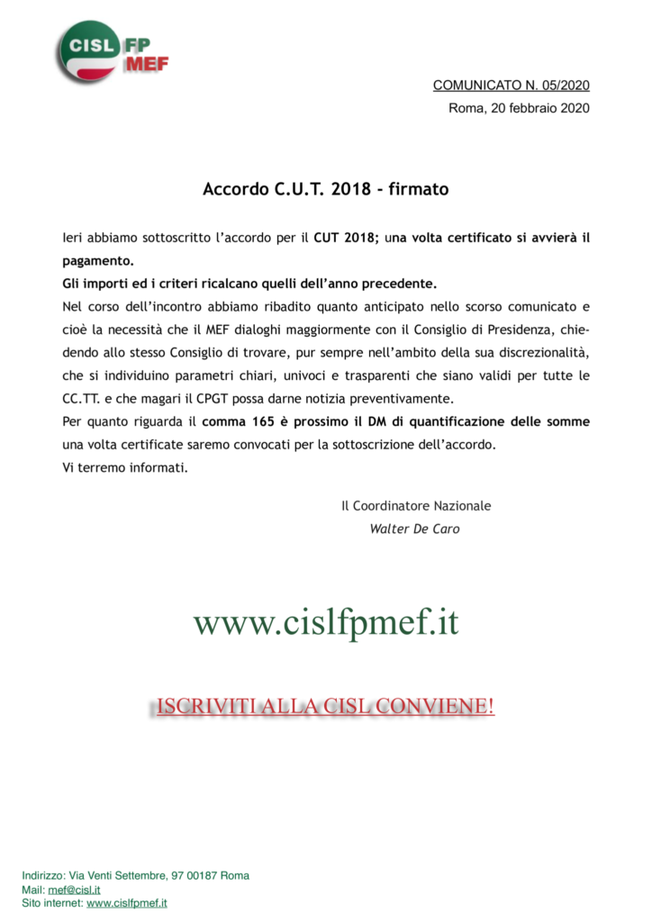 thumbnail of 5-20 COMUNICATO – Accordo CUT 2018 – firmato.pdf