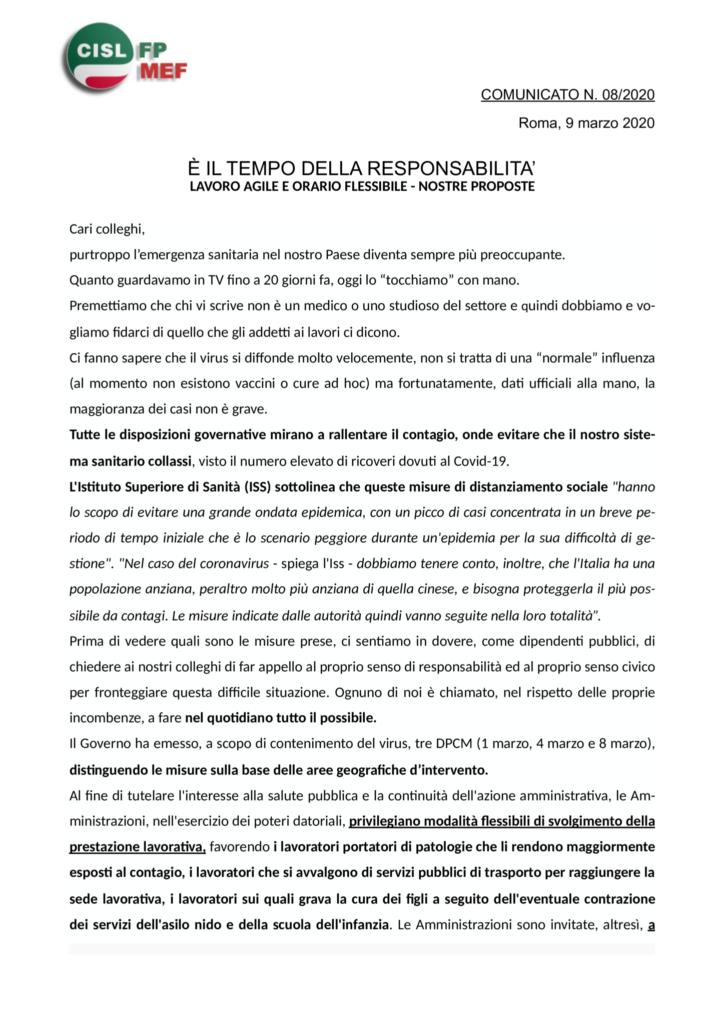 thumbnail of 8-20-COMUNICATO-E-IL-TEMPO-DELLA-RESPONSABILITA-Lavoro-agile-e-orario-flessibile-le-nostre-proposte
