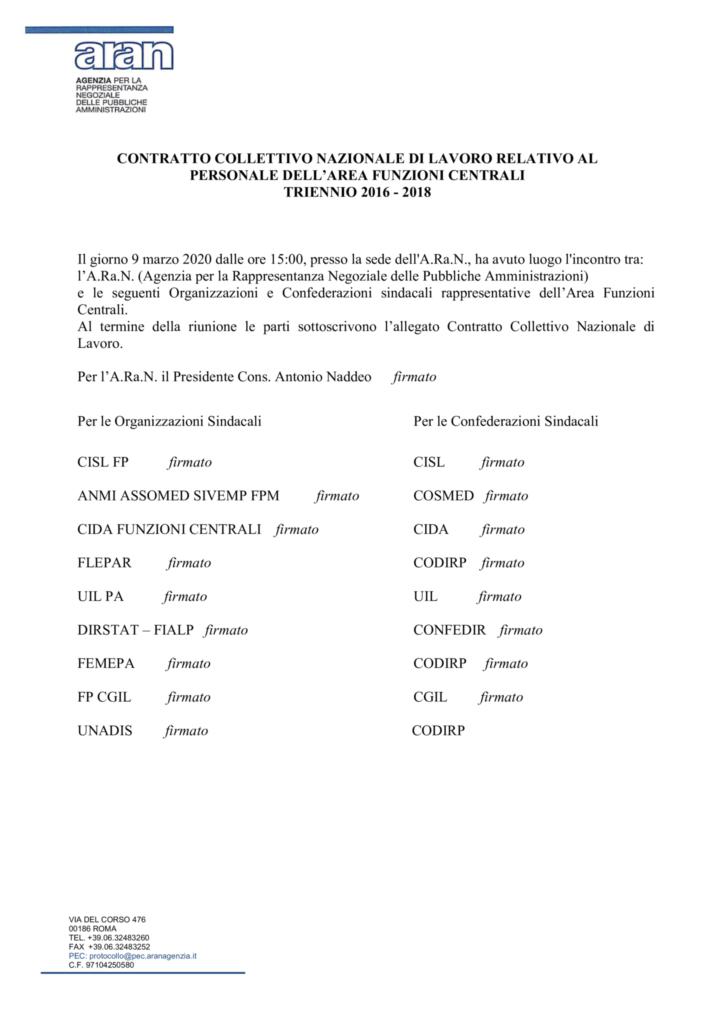 thumbnail of CCNL definitivo Area Funzioni Centrali triennio 2016-2018.pdf