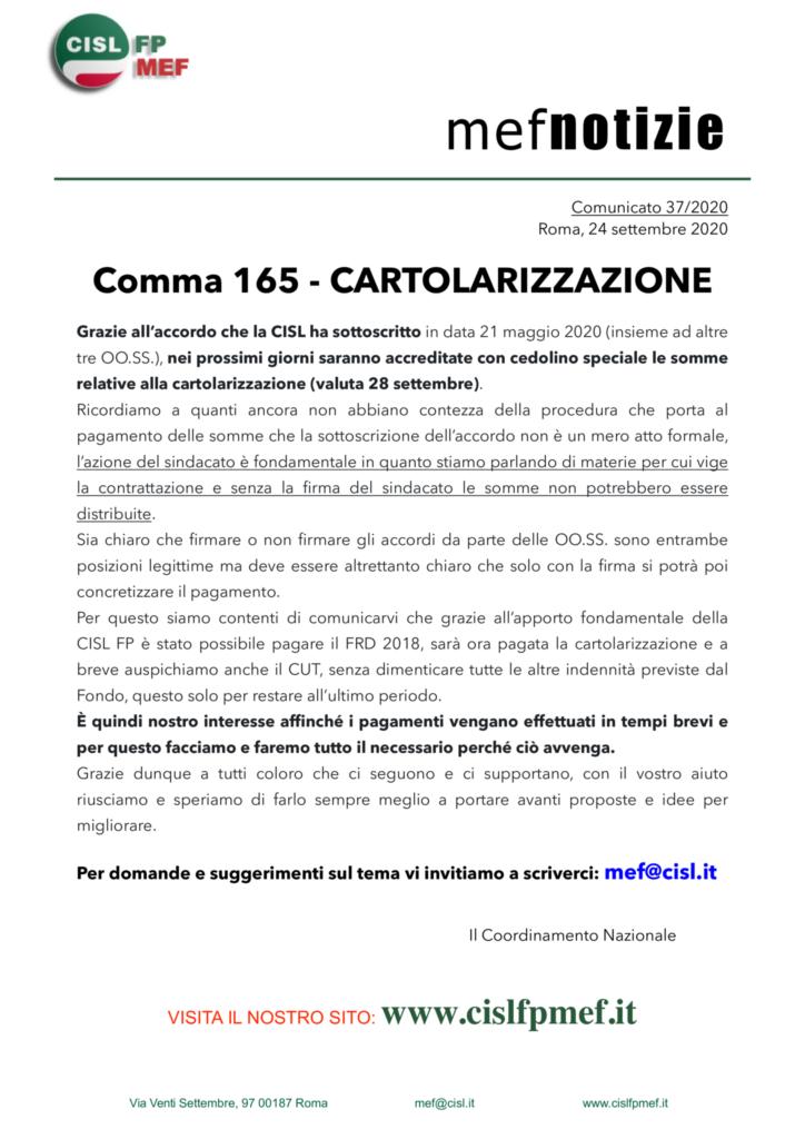 thumbnail of 3720-COMUNICATO-mef-notizie-COMMA-165-CARTOLARIZZAZIONE