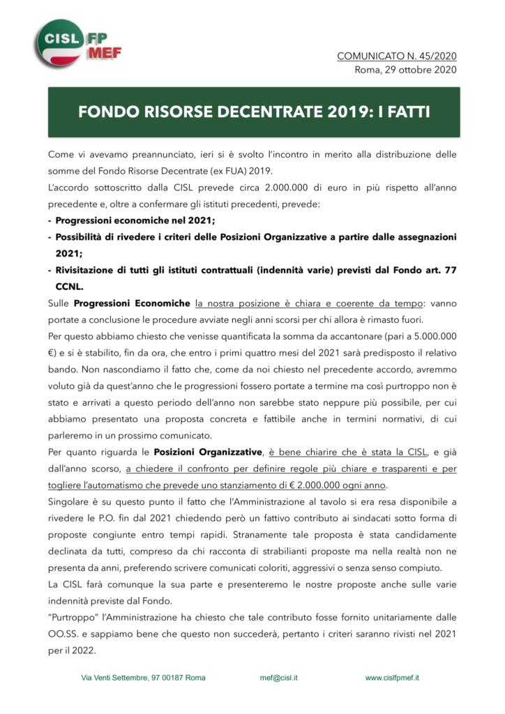 thumbnail of 45_20-COMUNICATO-FONDO-RISORSE-DECENTRATE-2019-I-FATTI