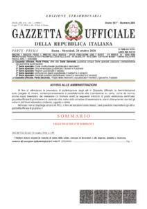 thumbnail of Decreto-legge 137_2020