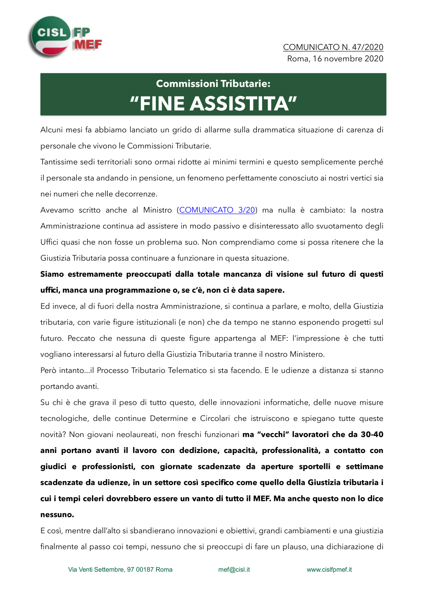 thumbnail of 47:20 COMUNICATO – Commissioni Tributarie- FINE ASSISTITA