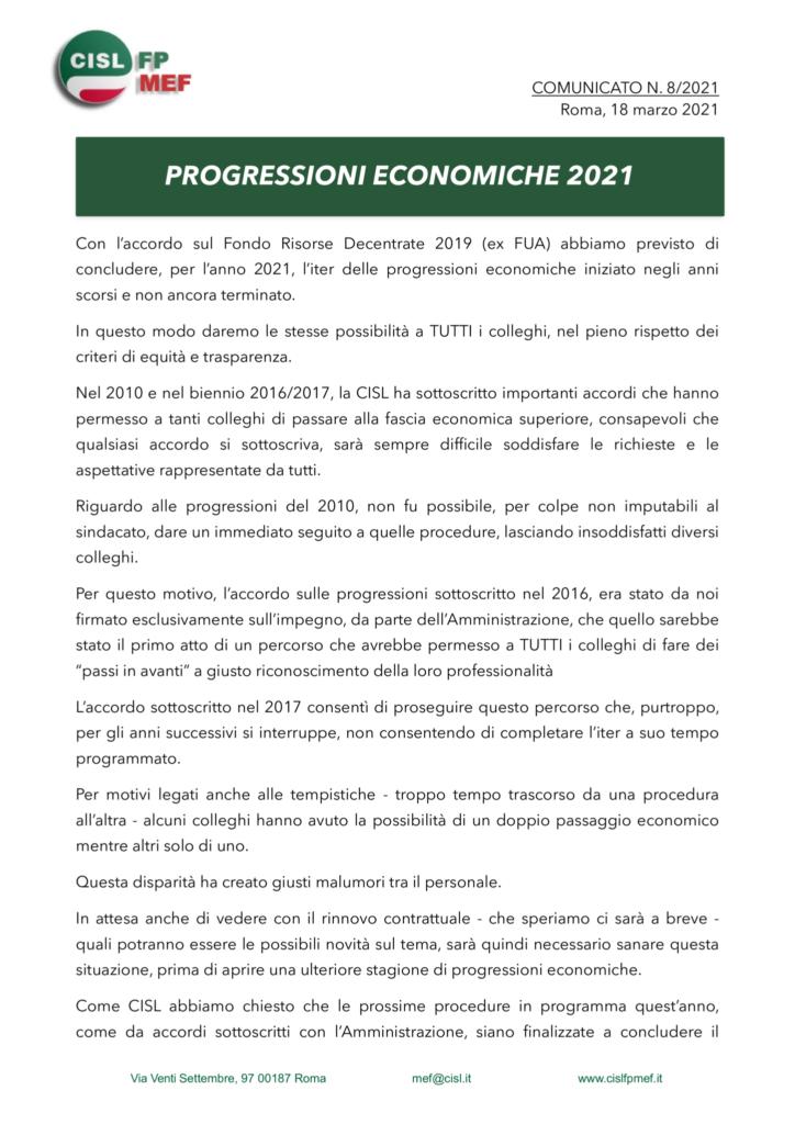 thumbnail of 821-COMUNICATO-progressioni-economiche-2021