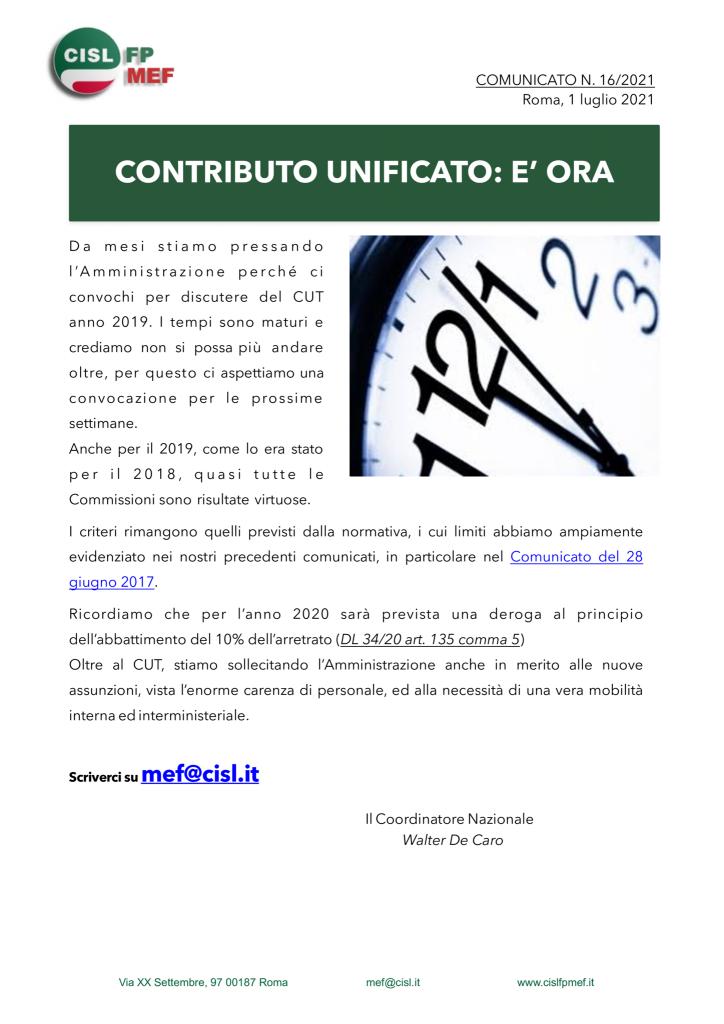 thumbnail of 16:21 COMUNICATO – CONTRIBUTO UNIFICATO- è ORA